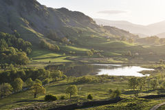Pretty Little Langdale Morning Royalty Free Stock Photography