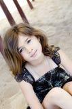 Pretty little multi ethnic girl Stock Photos