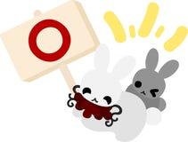 Pretty Little Rabbits Stock Photos