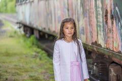 Pretty little thai girl Stock Photos