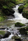 Pretty little waterfall. Quebec, Canada Royalty Free Stock Photos