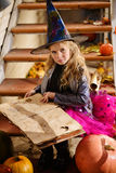Pretty little witch Royalty Free Stock Images