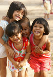 Pretty, lovely face, Asian children Royalty Free Stock Photo