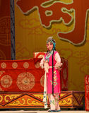 """Pretty Maids- Beijing Opera"""" Women Generals of Yang Family"""". This opera tells a patriotic story how does an old woman of a hundred years old go out Stock Image"""