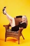 Pretty mature woman Stock Photo