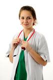 Pretty medical woman Royalty Free Stock Image