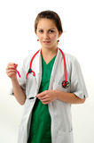 Pretty medical woman Stock Photo
