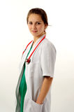 Pretty medical woman Stock Photography