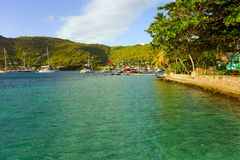 A pretty morning in the grenadines Royalty Free Stock Image