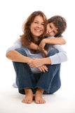 Pretty Mother And Son Stock Photo