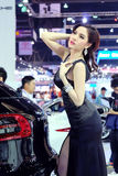 Pretty motorshow 2014 Royalty Free Stock Photos