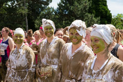 Pretty Muddy Race for Life Stock Photography
