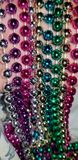 Pretty multicolor beads royalty free stock photography
