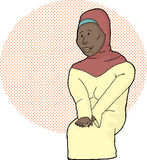 Pretty Muslim Lady Royalty Free Stock Images