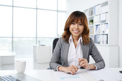 Pretty office manager Royalty Free Stock Image