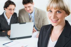 Free Pretty Office Worker Royalty Free Stock Photography - 3244407
