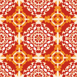Pretty Orange Mosaic Royalty Free Stock Photos