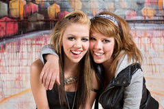 Pretty Pair of Friends Stock Photography