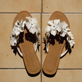 A pretty pair of sandals Royalty Free Stock Image