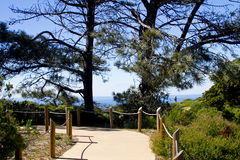 Pretty Path at park. Beautiful path at a national park Stock Photo