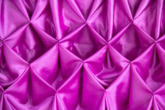 Pretty patterned fabric fold Stock Images