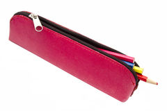Pretty pencil case Royalty Free Stock Photo