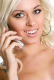 Pretty Phone Woman Royalty Free Stock Photo