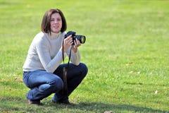 Pretty photographer Royalty Free Stock Image