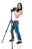 Pretty Photographer Stock Image