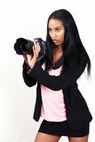 Pretty photographer Royalty Free Stock Image