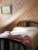 Pretty pink bedroom Stock Image