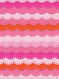 Pretty pink lace Royalty Free Stock Image