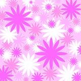 Pretty pink pattern. Pretty pink floral pattern Stock Image