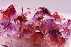 pink amethyst  Royalty Free Stock Photography
