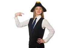 Pretty pirate girl Stock Photos