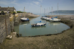 Pretty Porlock Weir, England Royalty Free Stock Image