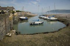 Pretty Porlock Weir, England Royalty Free Stock Image