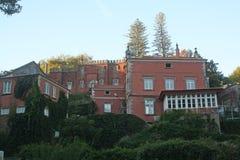 Pretty Portuguese villa. Stock Image