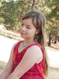 Pretty pre-teen girl Stock Photography