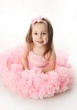 Pretty preschool ballerina Royalty Free Stock Images