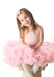 Pretty preschool ballerina Royalty Free Stock Image