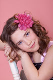 Pretty preteen Royalty Free Stock Images