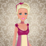 Pretty princess Stock Images