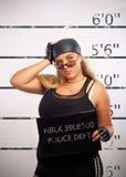 Pretty Prisoner Royalty Free Stock Photos