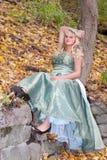 Pretty prom girl Stock Photo
