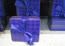 Gift Tins Stock Photography