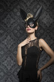 Pretty rabbit Royalty Free Stock Images