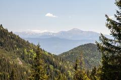 Pretty range of mountains, outdoors Stock Photo