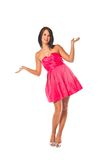 Pretty Red Dress Royalty Free Stock Images