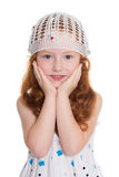 Pretty red haired girl Royalty Free Stock Image